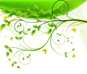Green Floral Background2