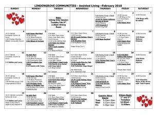 Mukwonago AL Calendar