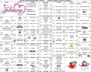 NB 1st Floor Calendar