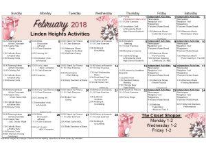 WK AL Calendar