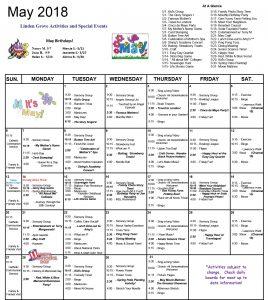 April 2018 Calendar LG MK