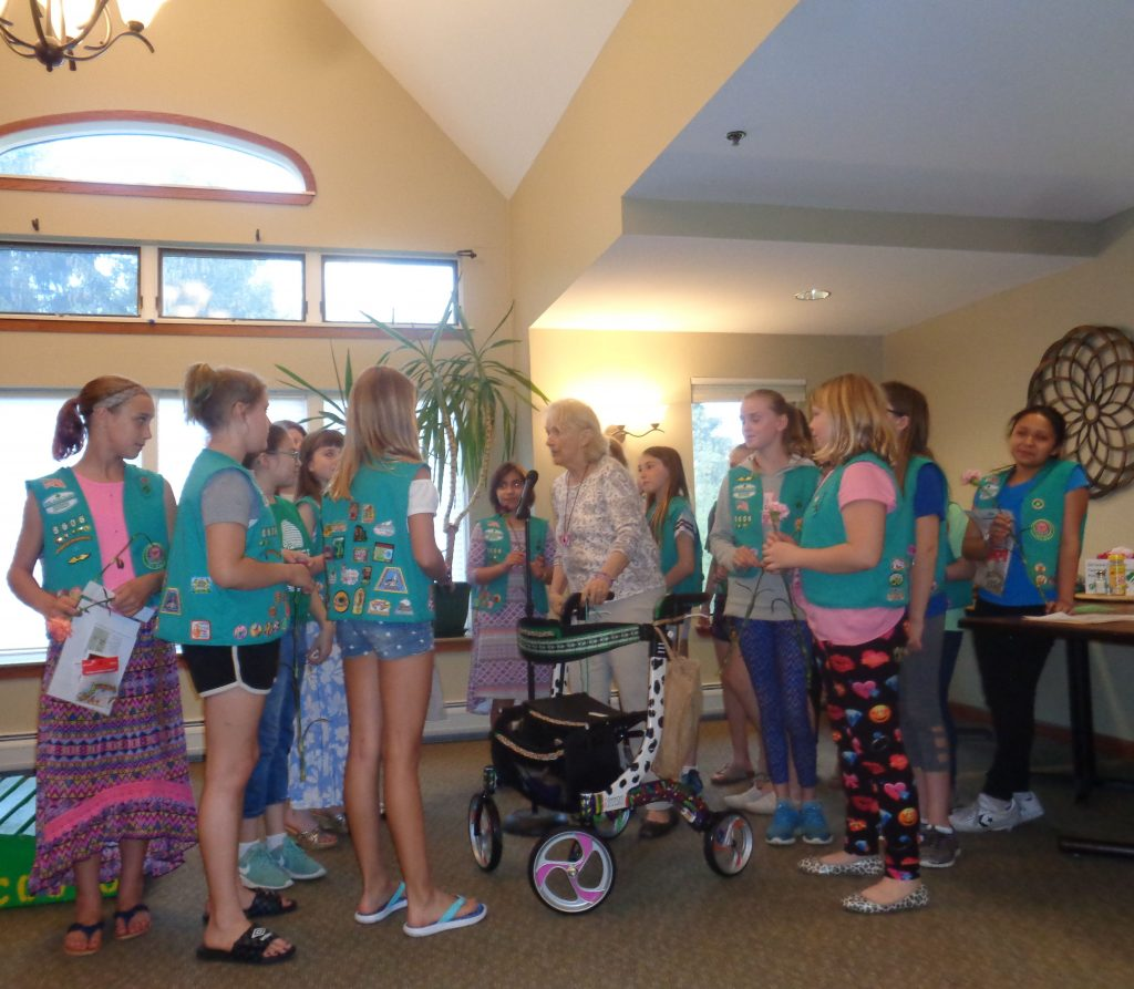 WK Girl Scouts Singing