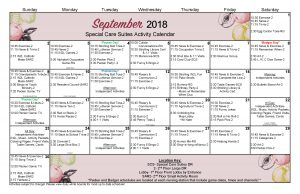 September 2018 Large SCS Lg Schedule Final