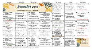 WK Lodges Nov 2018