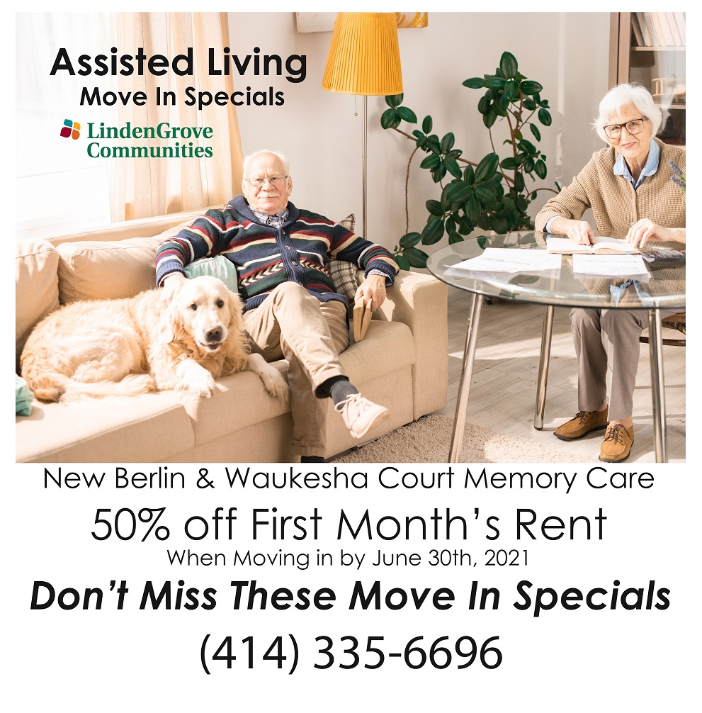 Assisted Living Move In Specials Flyer Website